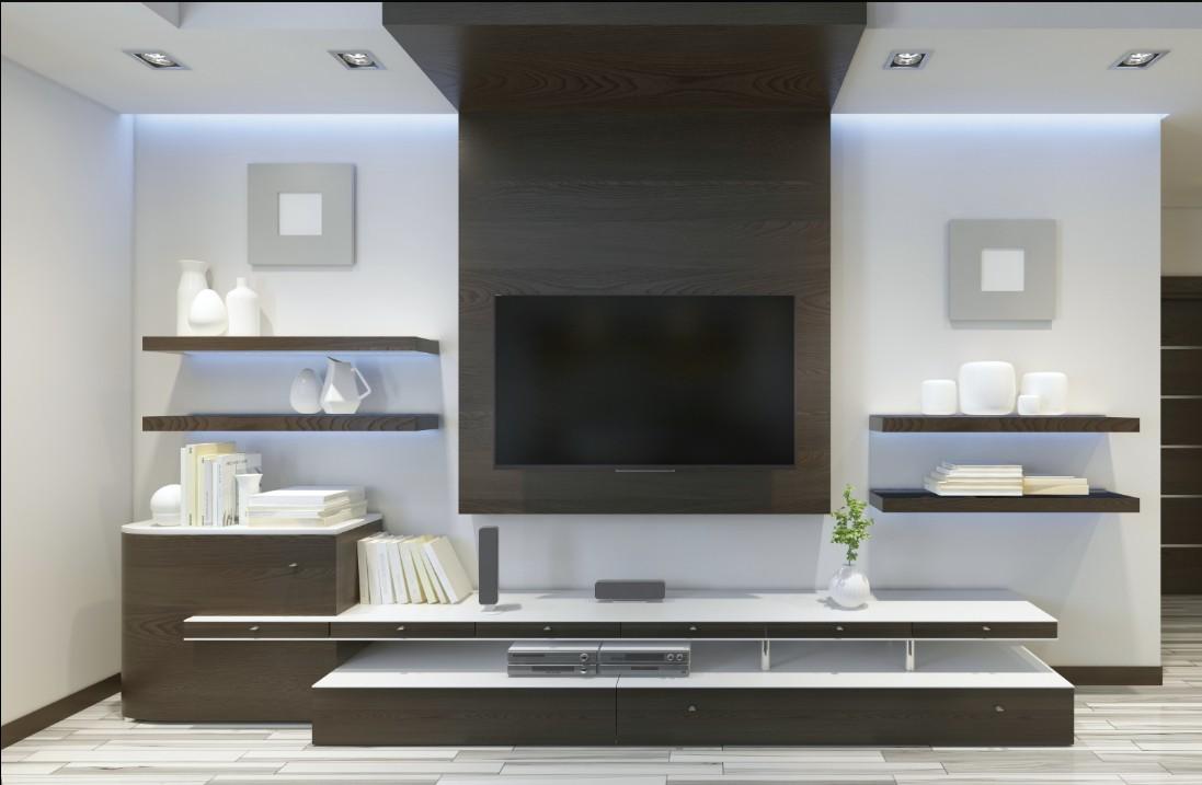 Un mueble para el televisor tips para tomar en cuenta for Muebles television diseno