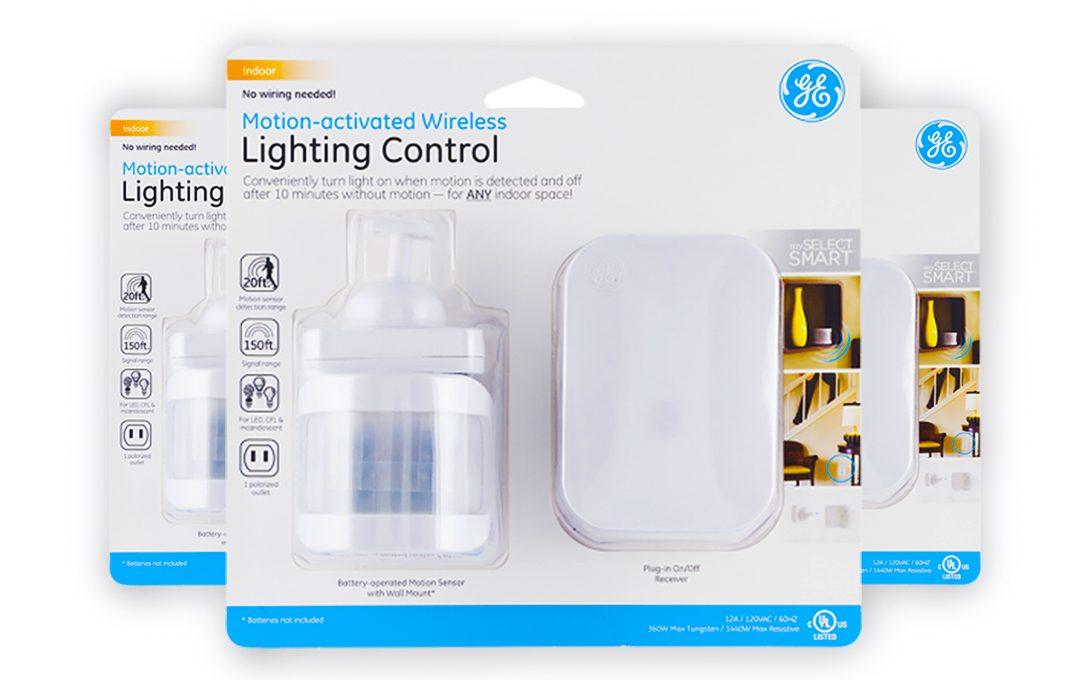 Control De Iluminación Con Sensor De Movimiento GE.